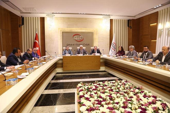 ATO Meslek Komiteleri ile Toplantı Gerçekleştirildi.