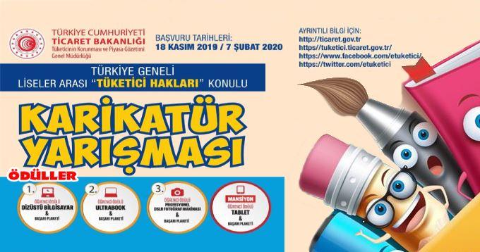 Liseler Arası Karikatür Yarışması